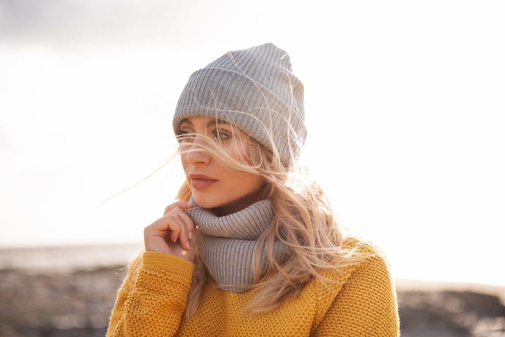 Ethical women's clothing | Hat and scarf set Rapanui
