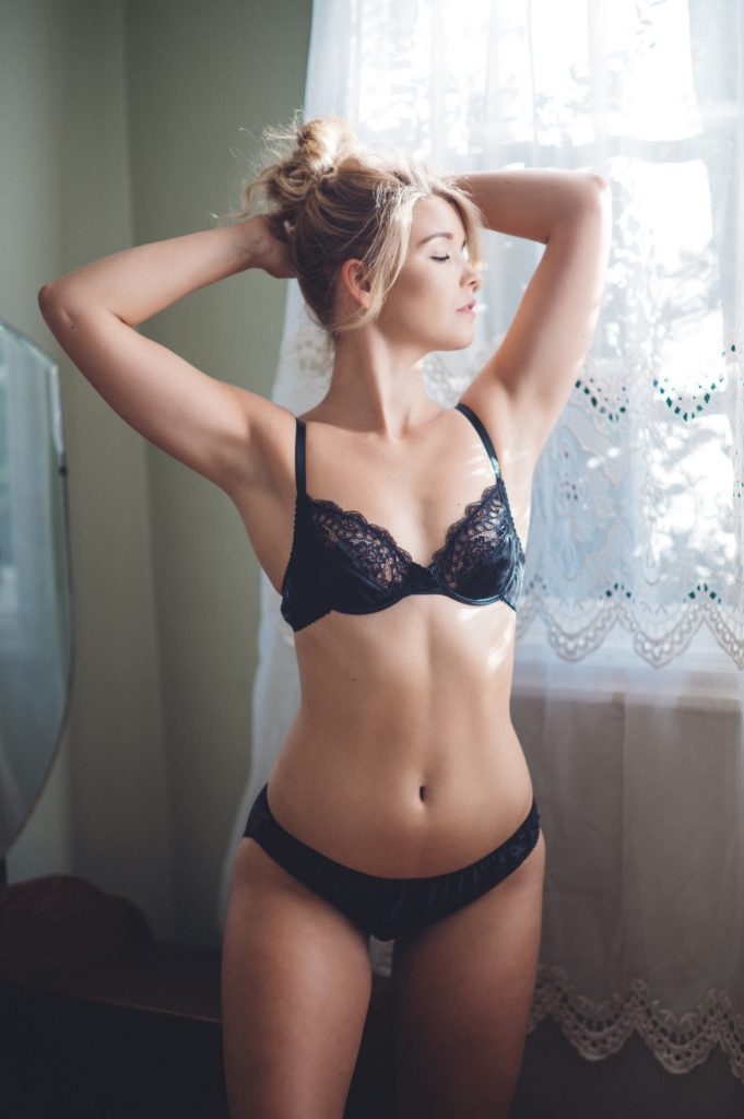 Ethical underwear | Ayten Gasson black underwear set