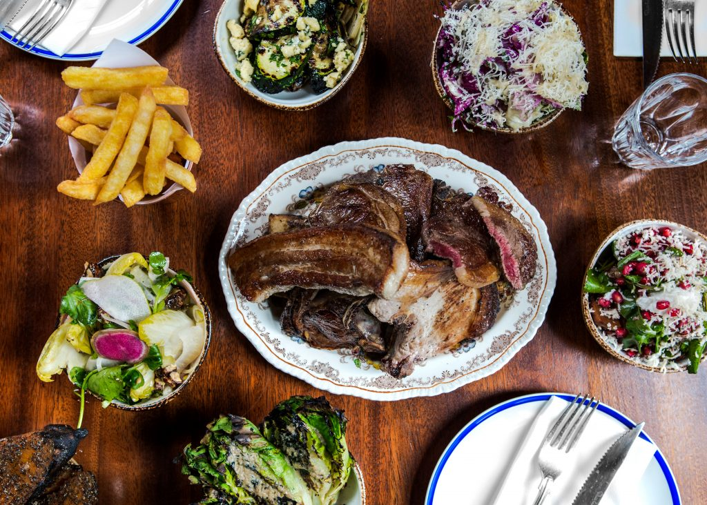 Blacklock | All-in plate and salads