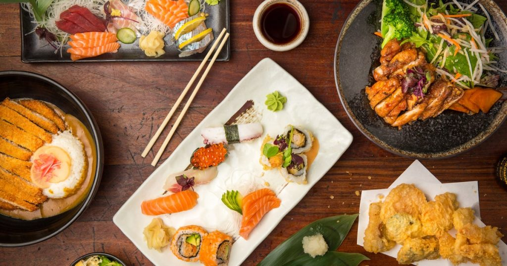 Moshi Moshi sushi | A selection of sushi