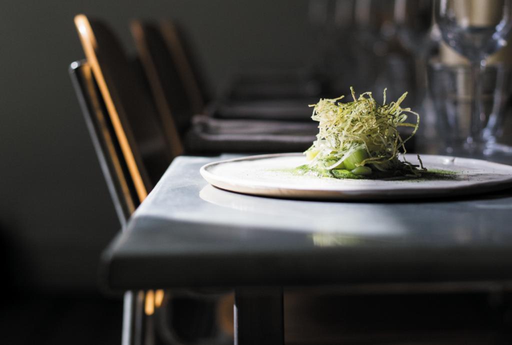 Best vegan restaurants London | Beautiful plate of food at Plates