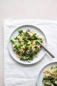 Allplants | vegan spring risotto