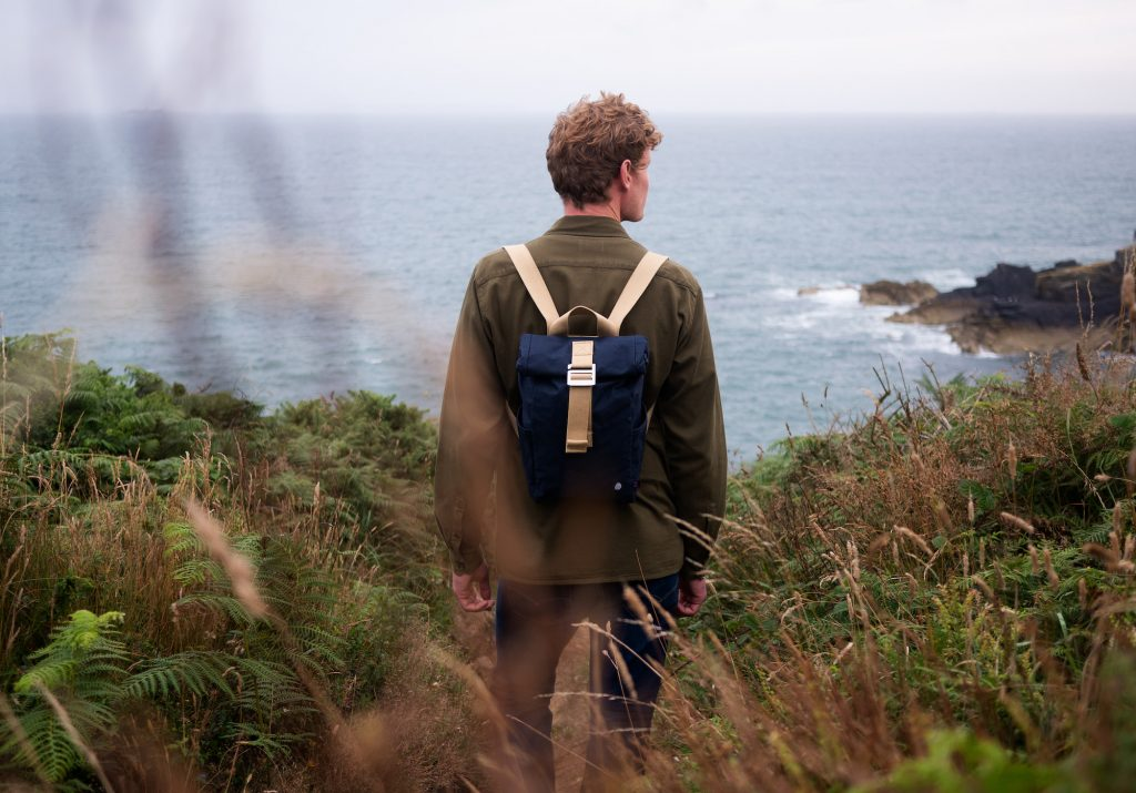 Ethical mens clothing | Backpack from the Level Collective