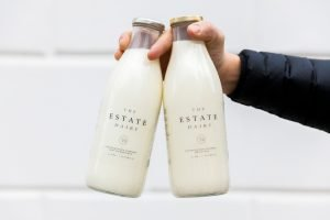 Milk bottles | The Estate Dairy