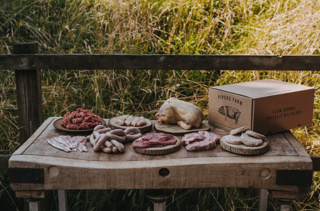Pipers Farm meat box