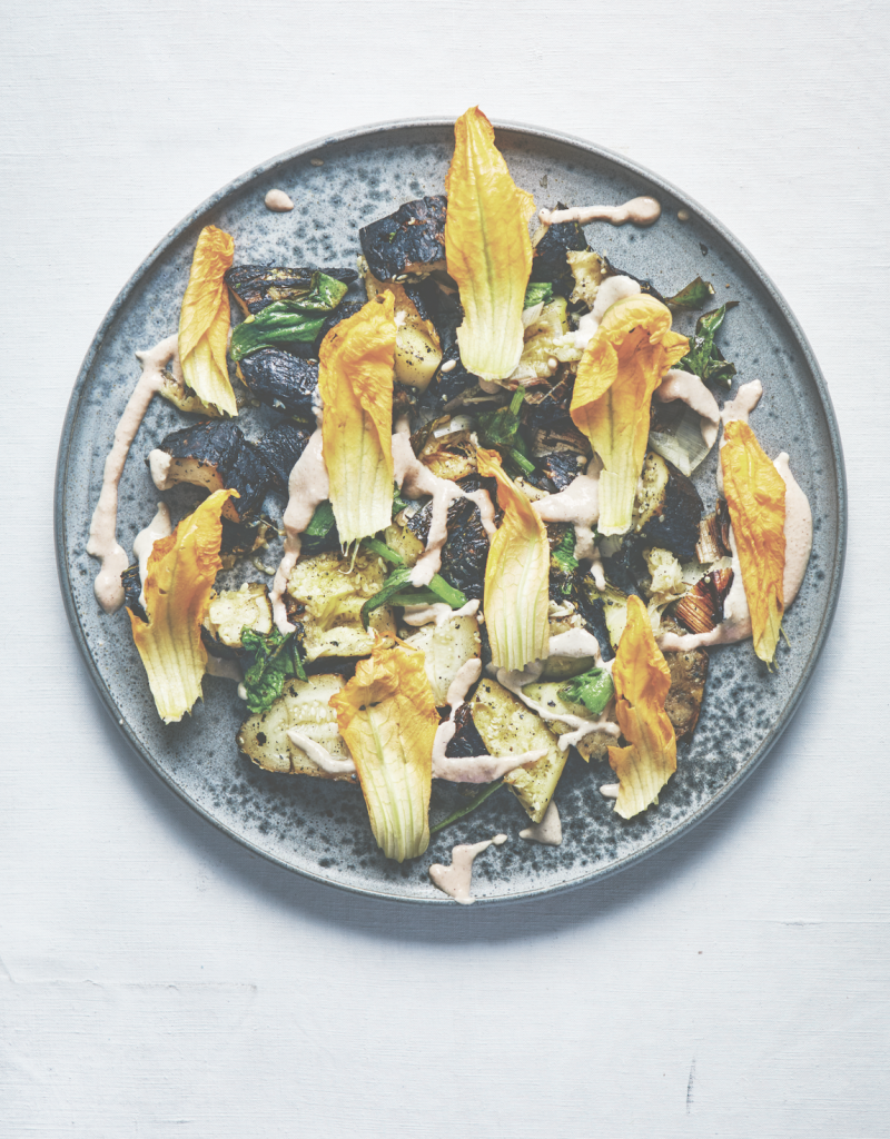 Blackened Courgetters | Jenny Zarins