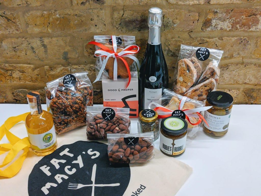 Sustainable Christmas gift | Fat Macy's Hamper