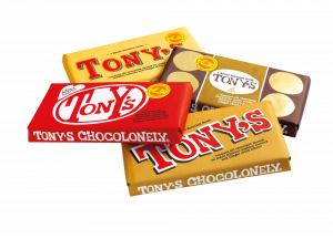 Tony's Chocolonely look-a-like bars